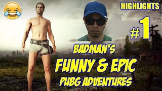 Download PUBG FUNNIEST PINOY PLAYER | HIS FIRST GAME | BADMAN PUBG ADVENTURES #1 Video