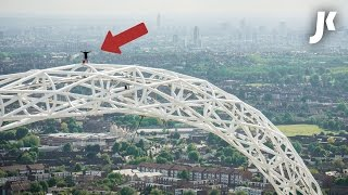 Download I FREE CLIMBED WEMBLEY ARCH Video