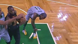Download Kyrie Irving Injury - Ankle Injury! Cavaliers vs Celtics February 11, 2018 Video