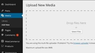 Download Increase Maximum Upload File Size in WordPress Video