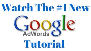 Download Google AdWords Tutorial March 2016! How to Make Google Search Ads and do YouTube Video Advertising! Video