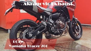 Download Top 5 Full Exhaust Sound Yamaha Tracer 700 / Akrapovic, MIVV, Arrow, SC-Project Video
