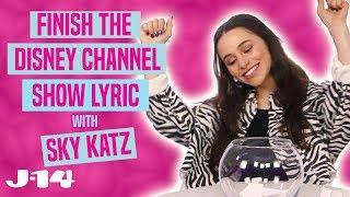 Download Raven's Home Star Sky Katz Raps Disney Channel Theme Songs   Finish The Lyric Video