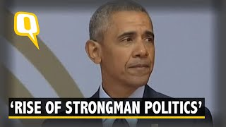Download Obama Minces No Words, Warns of 'Rise of Strongman Politics' Video