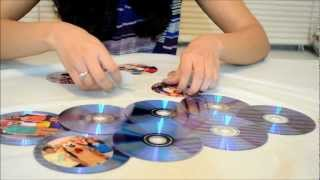 Download How To Make a Photo Frame Out of Waste CDs Video