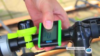 Download DX: JUNSD JS-222 16-Function Water Resistant 1.7″ Screen Bicycle Bike Computer Video