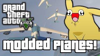 Download GTA V: MODDED PLANES! (GTA 5 Next Gen Funny Moments) Video