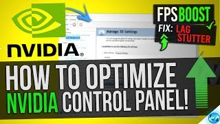 Download 🔧 How to Optimize Nvidia Control Panel For GAMING & Performance The Ultimate GUIDE Video