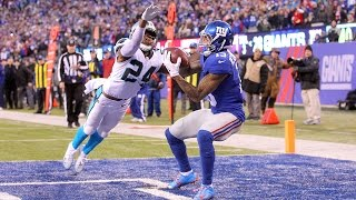 Download Odell Beckham vs. Josh Norman On The Field! | Inside The NFL | Panthers vs. Giants highlights Video