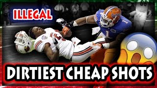 Download Dirtiest Cheap Shots in Football History (NFL, NCAA, CFL) Video