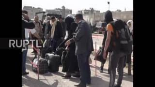Download Syria: 400 anti-govt fighters leave Homs as evacuation continues Video