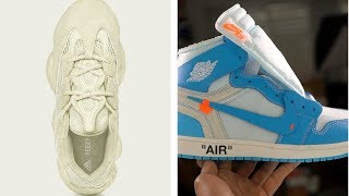 Download ADIDAS Yeezy 500 Sneaker vs JORDAN x OFF-White Sneakers, Parley x ADIDAS BOOST on HEAT CHECK Video