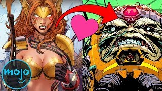 Download Top 10 Seriously Messed Up Superhero Romances Video