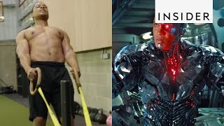 Download How Ray Fisher Got in Shape as Cyborg in 'Justice League' Video