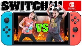 Download NINTENDO SWITCH CHALLENGE!!! Head to Head Battle with 1-2-Switch! Video