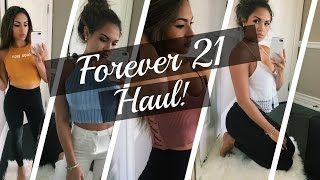 Download FOREVER 21 HAUL & TRY ON ♡♡♡ Video
