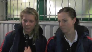 Download Ada Hegerberg and Lotta Schelin after Metz E.S.A.P-Olympique Lyon on 10.01.2016 Video