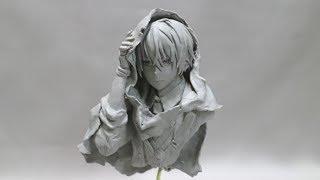 Download 【フィギュア製作】山姥切国広 作ってみた(no Painting) sculpting clay figure Video