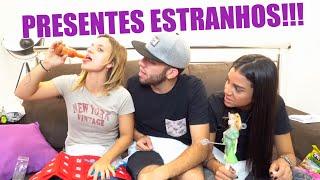 Download ABRINDO PRESENTES ESTRANHOS DE FÃS!! (Fralda Geriátrica etc.) Video