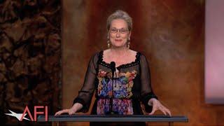 Download Meryl Streep salutes Jane Fonda at the 42nd AFI Life Achievement Award Video