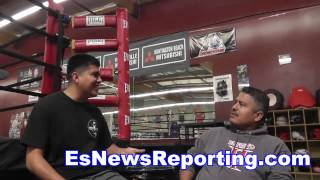 Download Robert Garcia In His Gym - Epic Argument GGG vs Canelo Who Wins EsNews Video