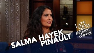 Download Salma Hayek Pinault Is Overflowing With Mexican Pride Video