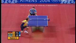 Download J-O. Waldner vs. Timo Boll - Athens 2004 Olympic Games (Waldner's points) Video