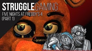 Download STRUGGLE GAMING | Five Nights at Freddy's 4 (Part 1) Video