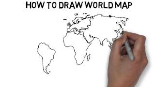 Download How To Draw World Map Video