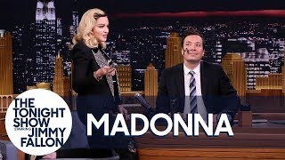 Download Madonna Serenades Jimmy as She Gives Him a MDNA Facial Video