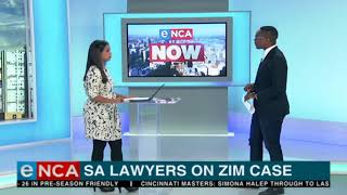 Download SA lawyers arrive in Zimbabwe to take on elections case Video