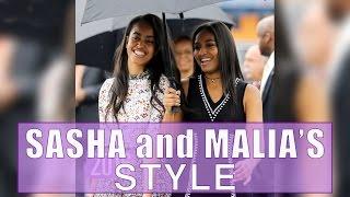 Download Sasha and Malia's Style Evolution Video