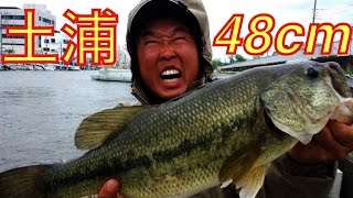 Download 霞ヶ浦でバス釣り!2人で48cmまで4匹釣れたよ。【土浦港】 Video