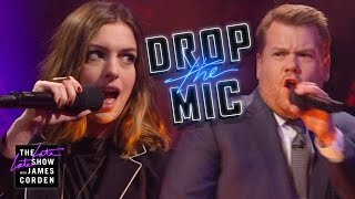 Download Drop the Mic w/ Anne Hathaway Video