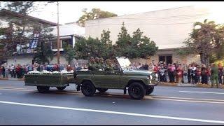 Download Parte caravana con las cenizas de Fidel Castro rumbo a Santiago de Cuba Video