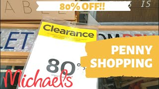 Download 80% off Clearance & Penny Shopping! Michael's & Office Depot Video