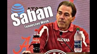 Download Alabama Crimson Tide Football: Nick Saban on Rivalry with Tennessee, DeVonta Smith is questionable Video
