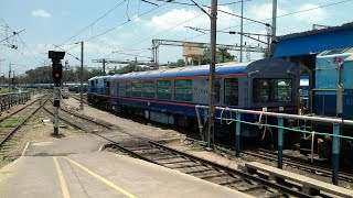 Download Chasing a Mysterious VISTADOME Coach || Most rarest Capture || Chennai Central || Indian Railways! Video