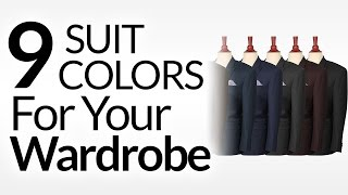 Download 9 Suit Colors A Man Should Consider | Men's Suits & Color | Suit Colors To Buy In Priority Order Video