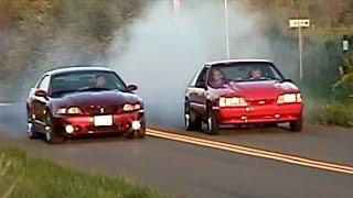 Download NOS sniffing 347 Stroker vs SVT Cobra Terminator (Ford on Ford Crime) Video