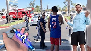 Download WE CALLED THE COPS ON RANDOM STRANGERS! *Dangerous Situation* Video