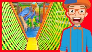 Download The Indoor Playground with Blippi | Learn Colors and more! Video