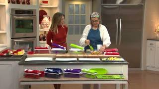 Download Genius Nicer Dicer Plus 10-piece Multi-Chopper with Stacey Stauffer Video