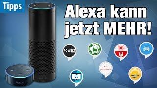 Download Alexa wird ÜBERMÄCHTIG - mit diesen Gratis-Skills! | Die 10 besten Apps für Alexa auf Amazon Echo Video