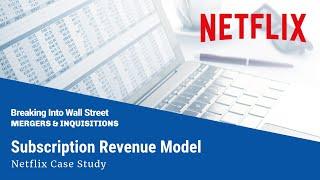 Download Subscription Revenue Model (Netflix) Video