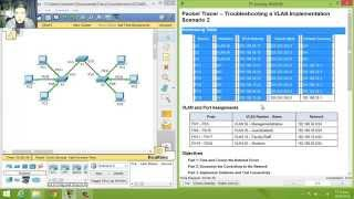 Download 6.2.3.8 - 3.2.4.8 Packet Tracer - Troubleshooting a VLAN Implementation - Scenario 2 Video