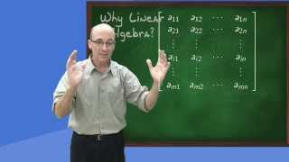 Download Why Linear Algebra? Video