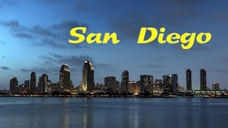 Download Top 10 reasons to move to San Diego, California. Vacation, Visit or live in San Diego. Video