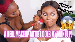 Download A REAL MAKEUP ARTIST DOES MY MAKEUP!!! I ACTUALLY CANT BELIEVE THE DIFFERENCE - OMG Video