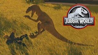 Download RAPTORS ESCAPE! - Jurassic World Evolution #8 Video